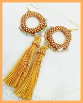 """ Sole d' Oriente"" Earrings"