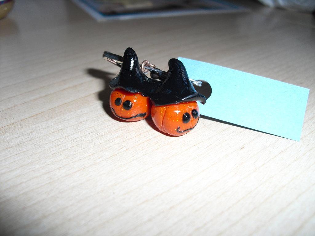 orecchini zucche