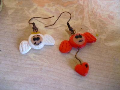 orecchini angel & devil
