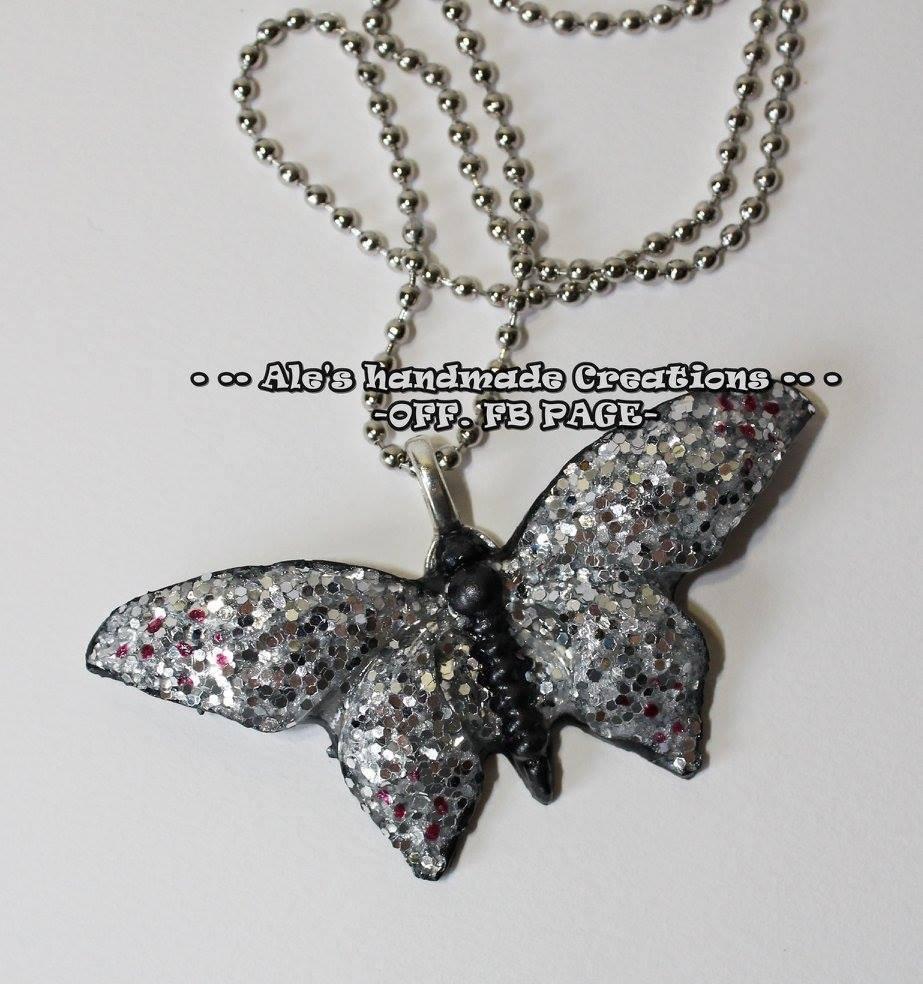 Collana in Resina 'Farfalla'