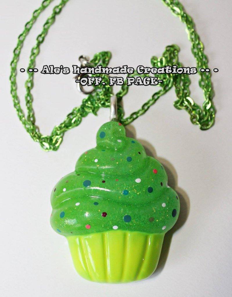 Collana in Resina 'Cupcake'