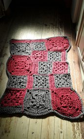 tappeto crochet nuovo fatto a mano lycra 2