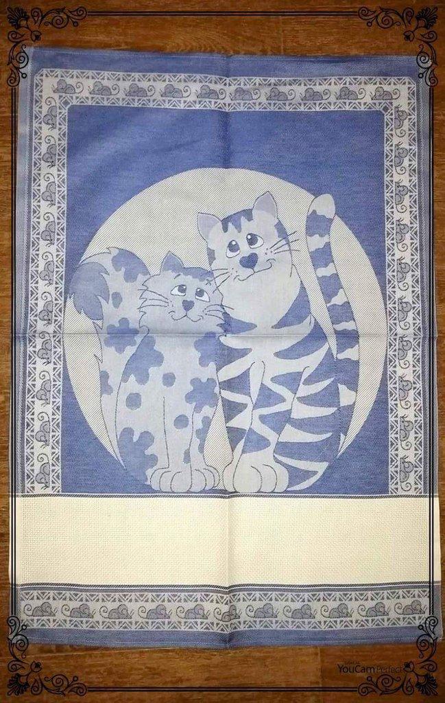 Asciugapiatti fantasia gatti in cotone