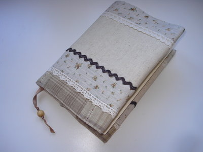 Book Cover - Copertina di stoffa per libri o agenda