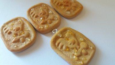 Mini galletti in fimo