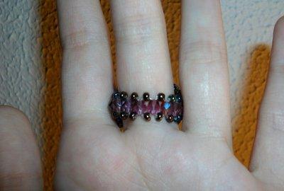 anillo básico de Swarovski