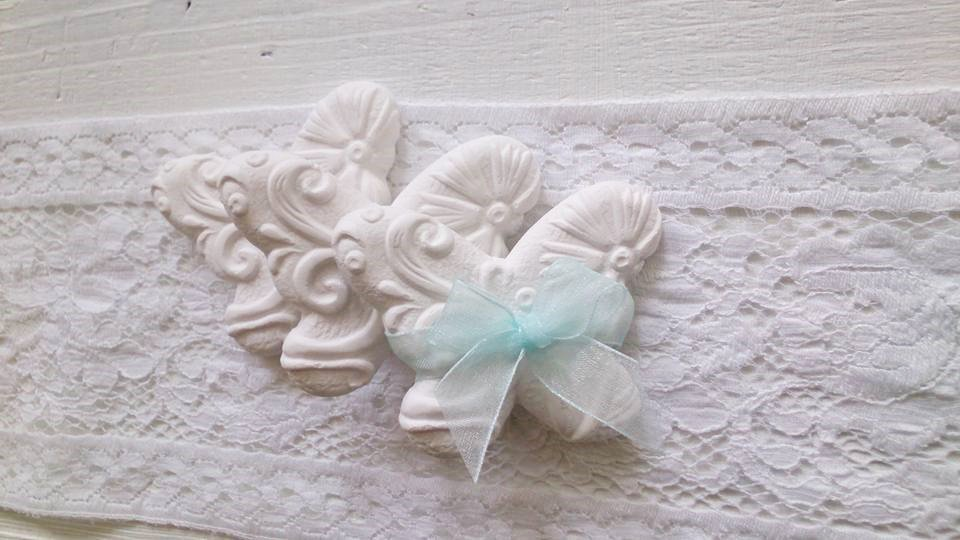 gesso farfalla Segnaposto bomboniera