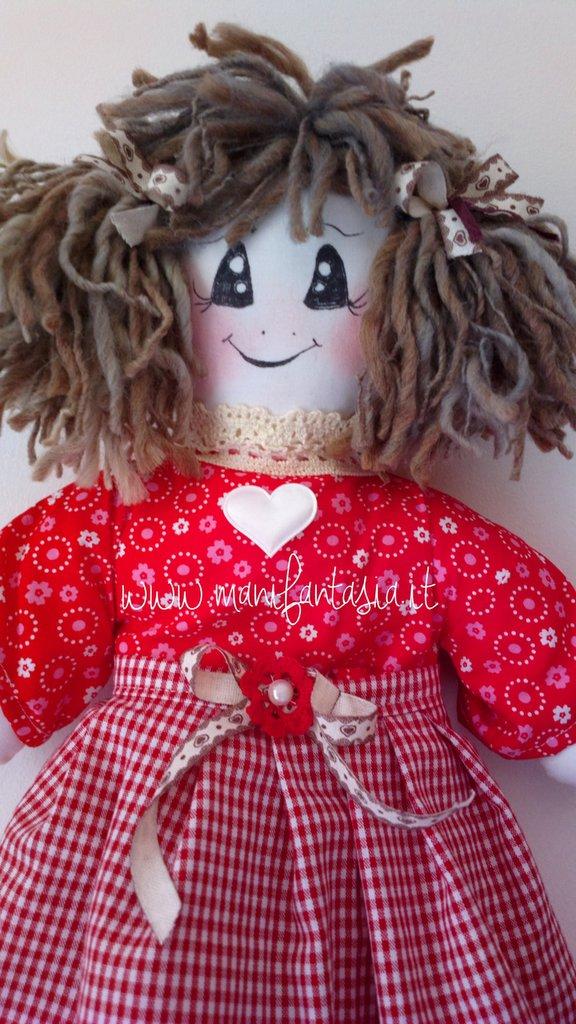 bambola portasacchetti country