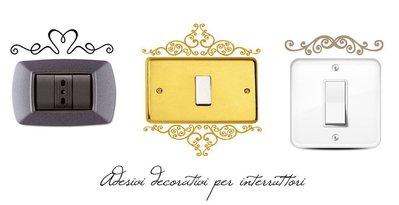 Adesivi decorativi per interruttori