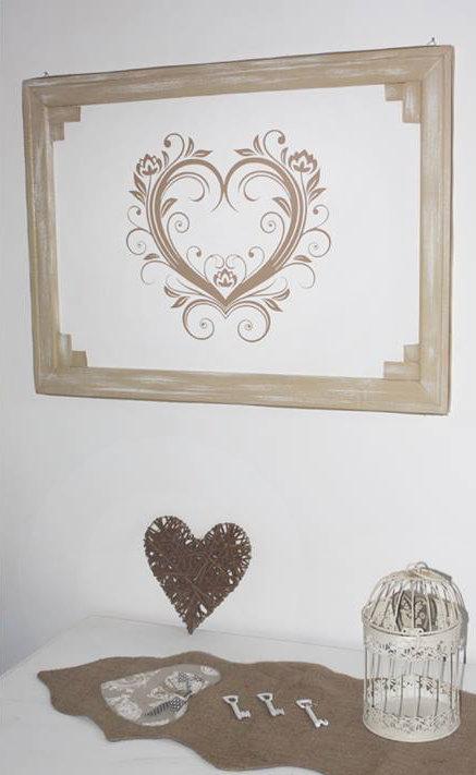 Adesivo cuore Le Coeur