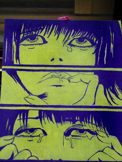 Valentina Crepax (is crying)