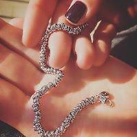 Bracciale nodini in argento 925