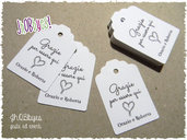Bigliettini Matrimonio - tags wedding