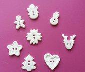 Bottoni in polvere di ceramica varie forme