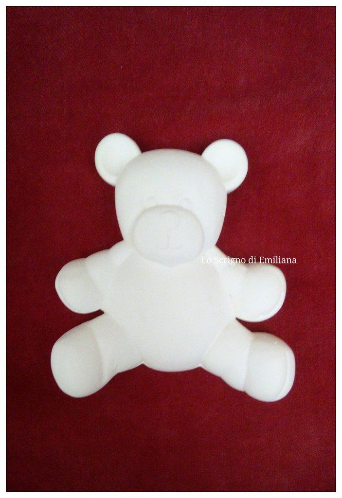 Gessetti profumati orso per realizzare bomboniere/segnaposto