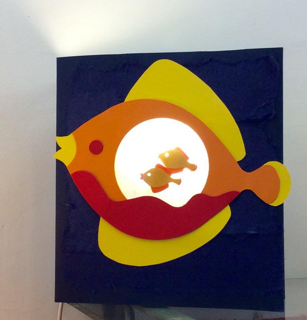 Lampada per bambini acquario
