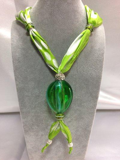 Collana in vetro di Murano