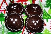 Addobbi natalizi:Biscotti cioccolato