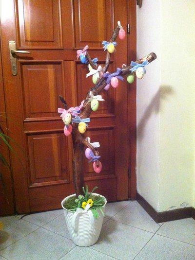 Easter Tree (Albero Pasquale) art 3368 pezzo unico artigianale