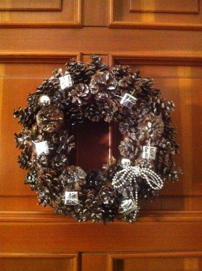 Ghirlanda natalizia  artigianale art 2864