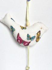 Decorazione Pasquale-uccellino profumato di stoffa