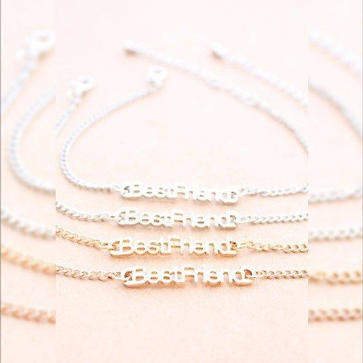 Best friend chain  Bracelets, migliore amico regalo