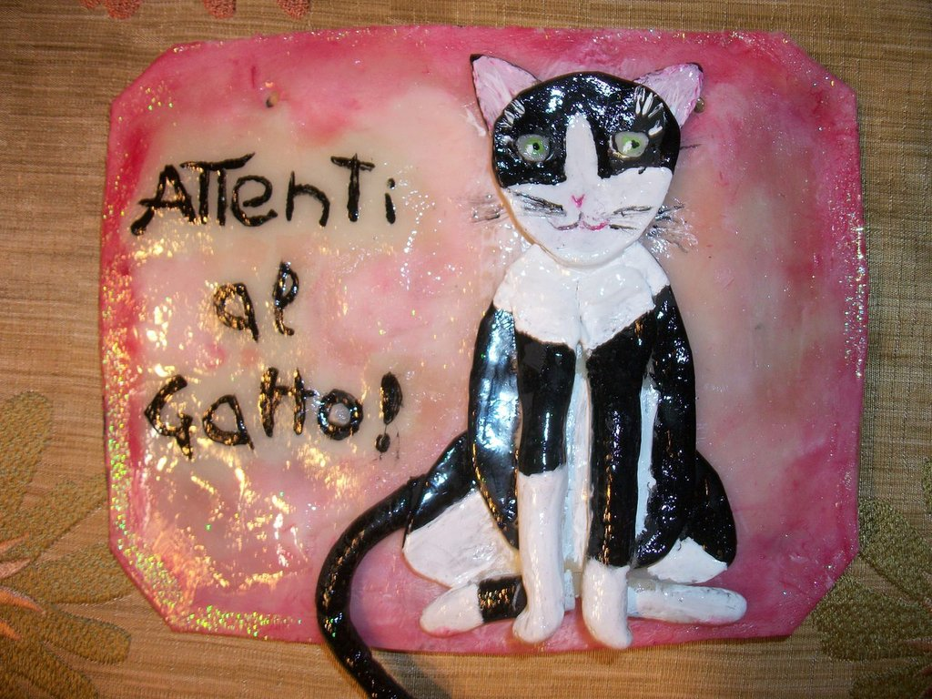 Attenti al gatto con caricatura 3D del vostro gatto