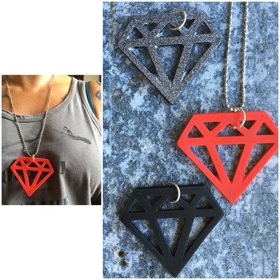 Collana Diamante Maxi