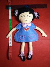 Bambola Meli fatta a mano