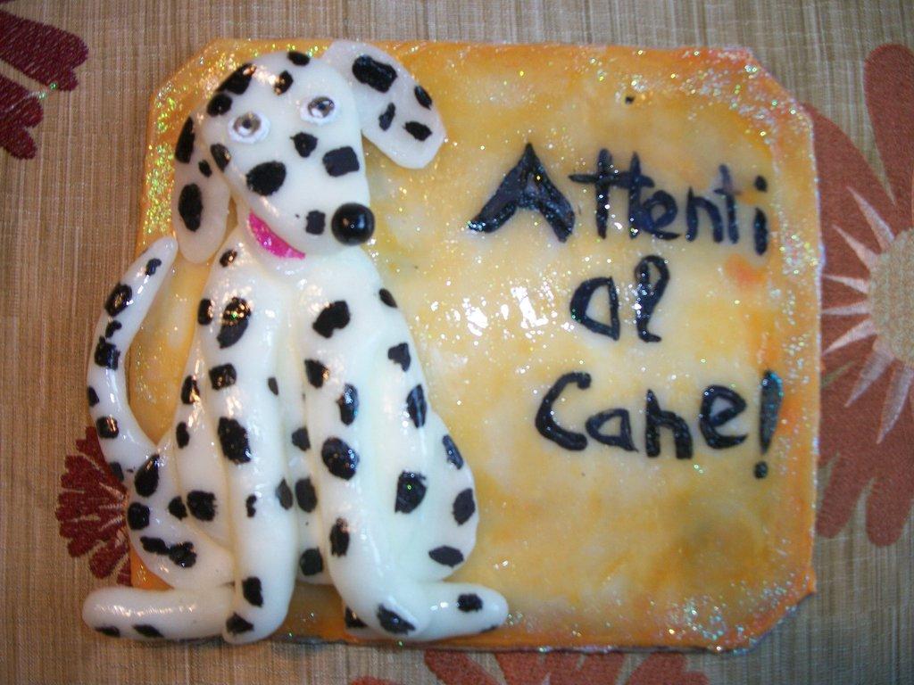 ATTENTI AL CANE!dalmata