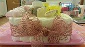 cesto di pannolini -rosa