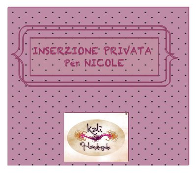 INSERZIONE PRIVATA PER NICOLE (2)