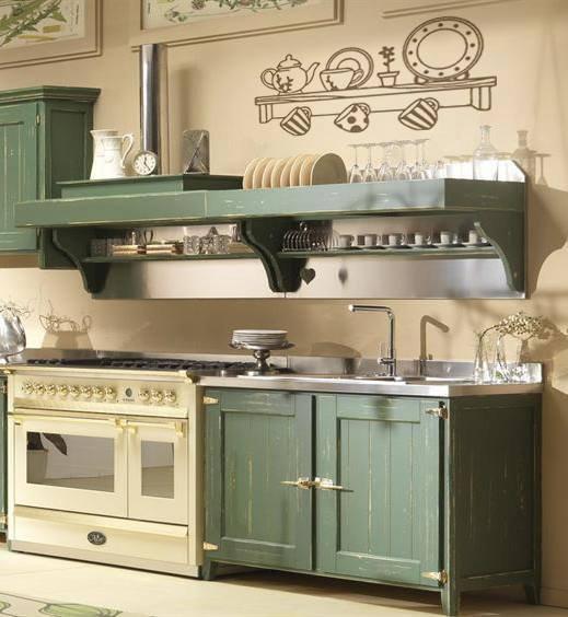 Finta mensola adesiva per cucina - Per la casa e per te - Cucina ...