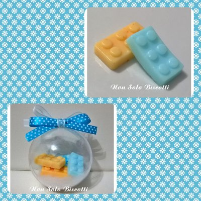 Bomboniera Lego Battesimo