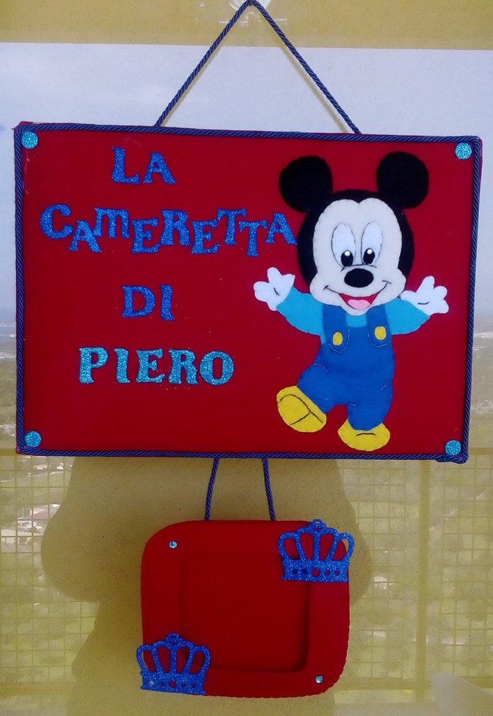 Fuoriporta / decorazione cameretta di topolino