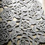tappeto artigianale in fettuccia fatto a mano uncinetto 3