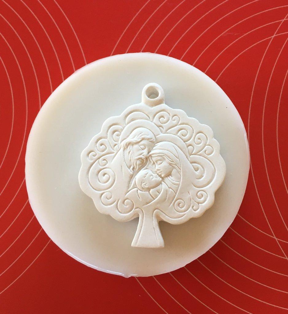 Stampo silicone albero della vita Battesimo