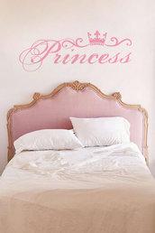 Adesivo murale Princess 75 cm x 30 h