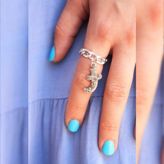 Spada Ring, l'anello della catena d'argento