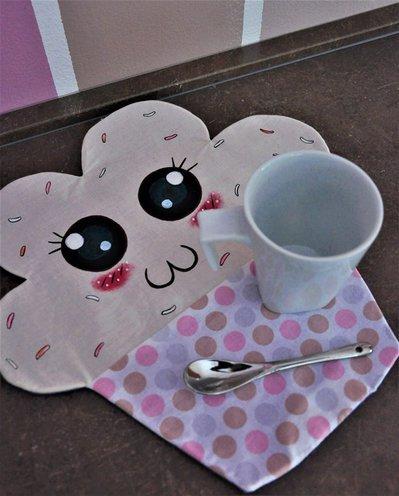 Tovaglietta da colazione cupcake