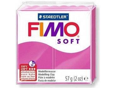 NUOVI ARRIVI! 1 panetto FIMO SOFT color PORPORA  n° 61 (57 gr)