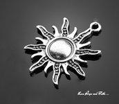 "Charm ciondolo ""Sole"" (28x25mm) (cod.34430)"