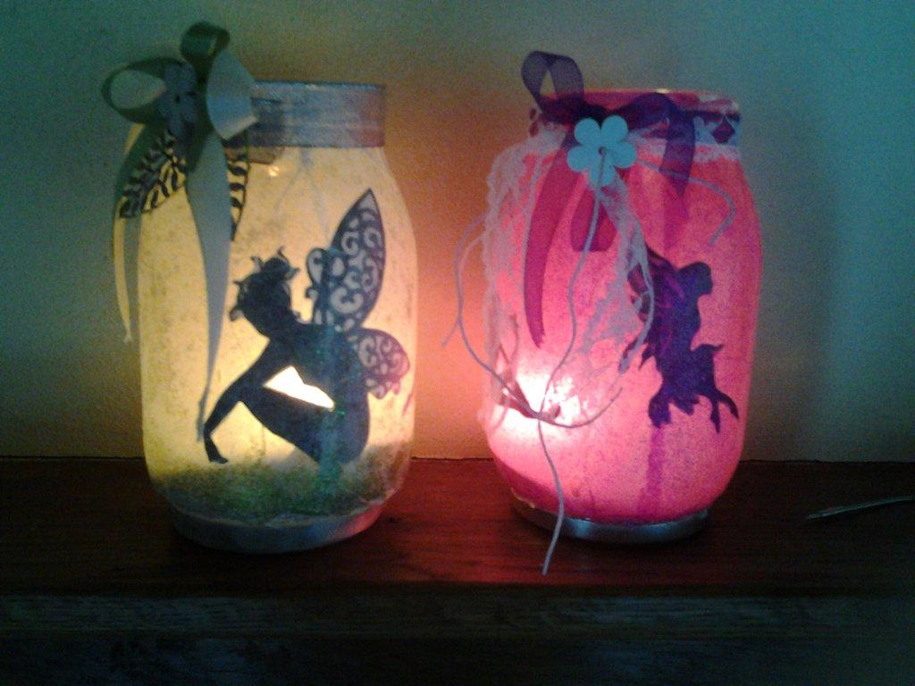 Lanterne portacandele riciclo creativo