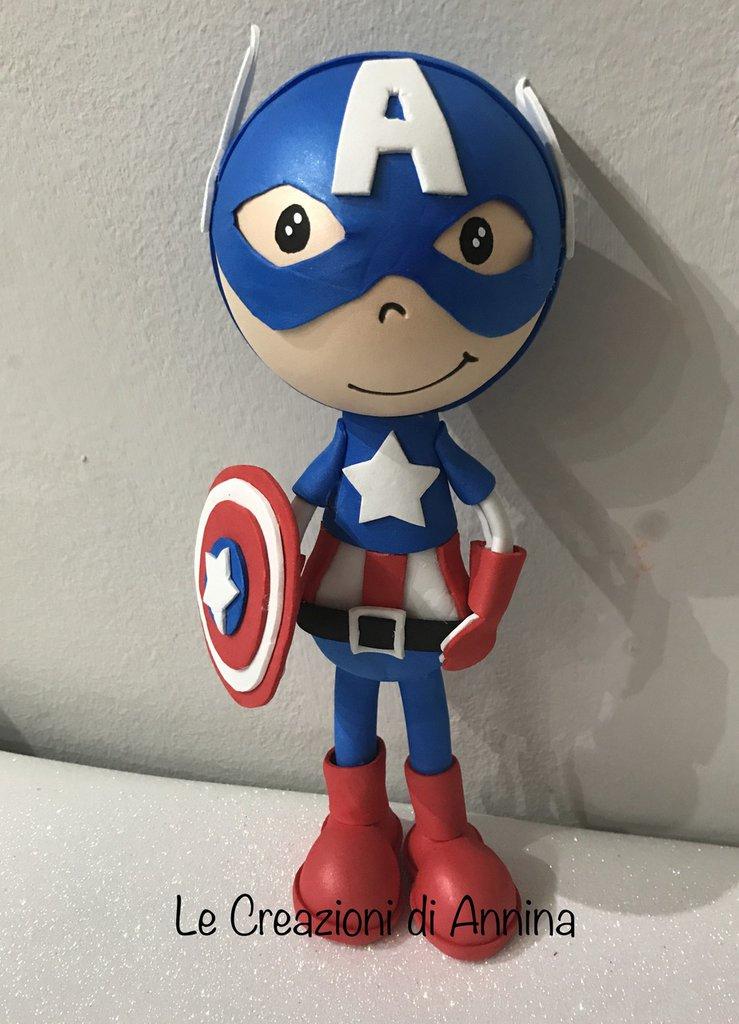 Bambola Capitan America