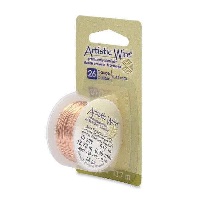 "NOVITA'! Artistic Wire ""Bare Phosphor Bronze""  (13,7mt) (cod.new)"