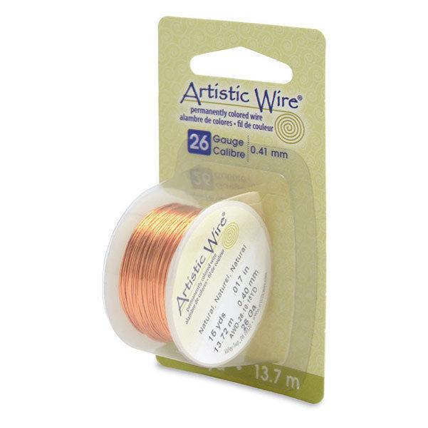 """NOVITA'! Artistic Wire """"Natural""""  (13,7mt) (cod.new)"""