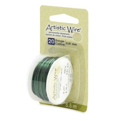"""NOVITA'! Artistic Wire """"Green""""  (5,5mt) (cod.new)"""