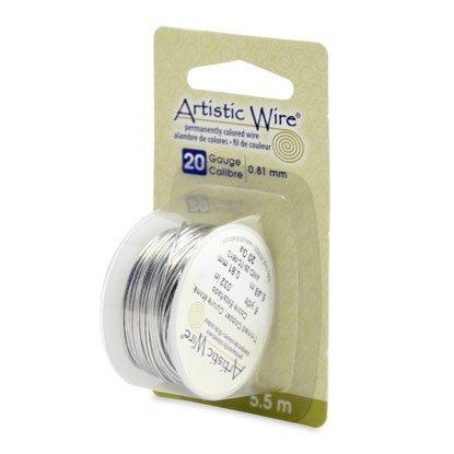 """NOVITA'! Artistic Wire """"Tinned Copper  (5,5mt) (cod.new)"""