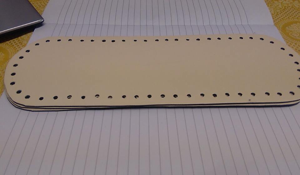 fondo ovale 10x30 panna