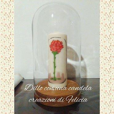 candela rosa piccolo principe